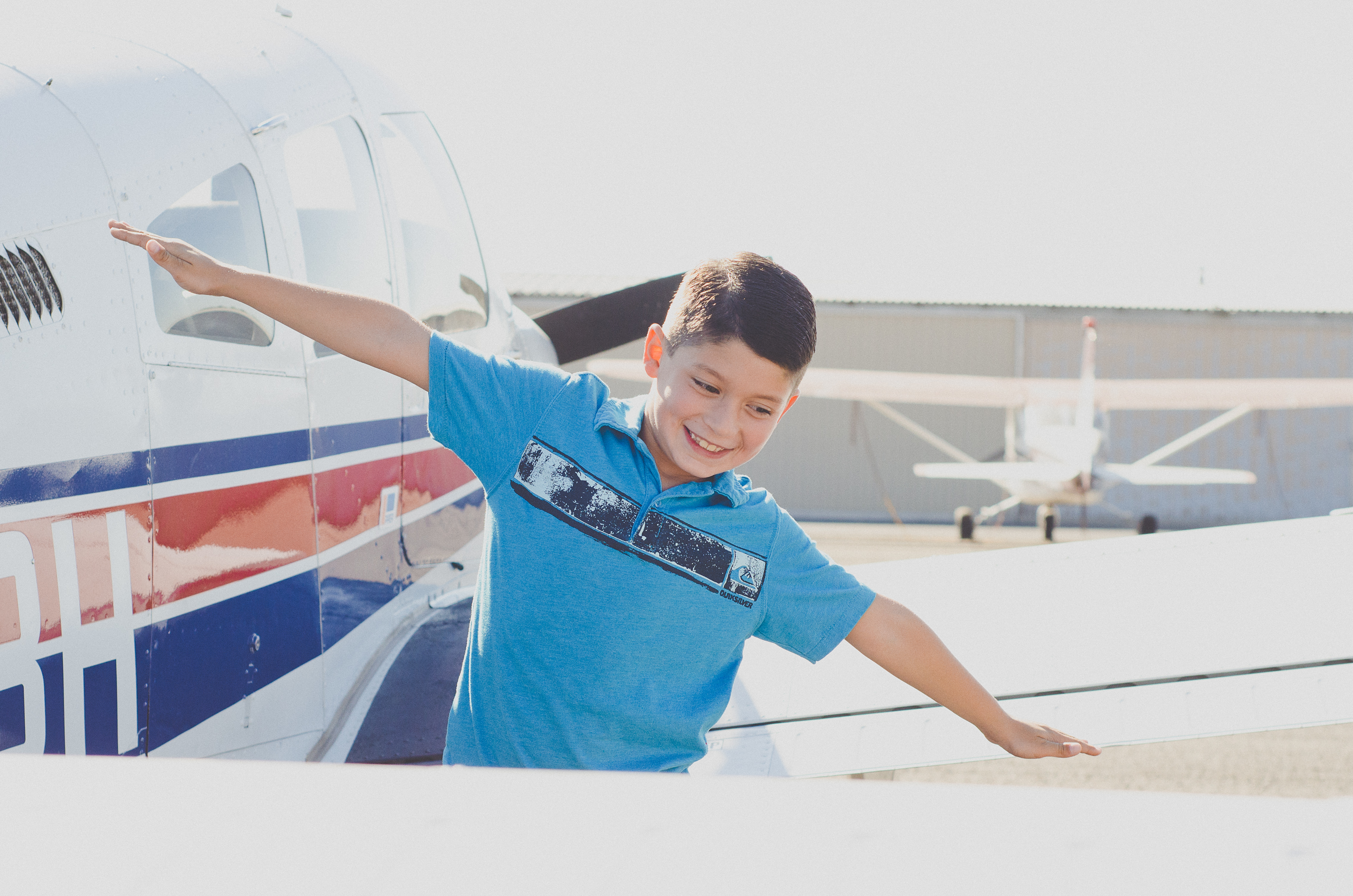 Aiden and the Plane